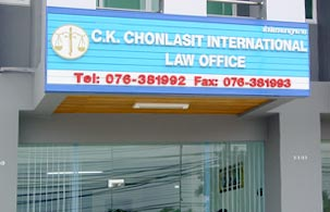C.K. Chonlasit International Law Office