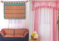 Orana Curtain has a wide selection of second hand curtains and Roman blinds