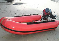 Life rafts manufactured by using a special rubber fabric resistant to oxidation and hydration
