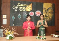 Welcome to Panwa Garden & Spa... secret of Thai beauty and healthy.