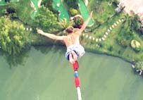 Challenge yourself with Bungy Jump.