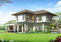 "Planning and construction services at ""Baan Suan Loch Palm""."