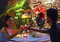 Enjoy your special dinner with live music