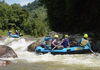 Phang-Nga Rafting is the most challenging whitewater trip