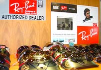 P and P optic is an authorized dealer for Ray Ban