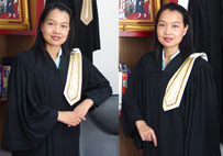 Ms. Rungnapa Putkaew, lawyer owner