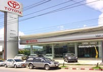 Toyota Pearl showroom (Rasada branch) is ready for complete service as sales showroom, service center and coachwork and standard automobile paint center.