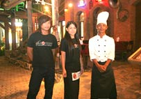 Friendly service in an enchanting atmosphere