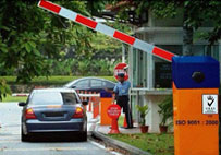 BR424P - Automatic Barrier Gate System
