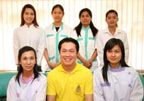Friendly professional dentists Team