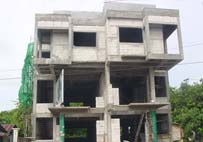 Naiharn Home Office under construction