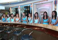 Our pretty receptionists
