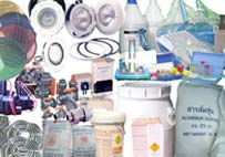 Equipment and chemical products for swimming pool